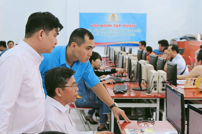 Triển khai phần mềm quản lý đoàn viên đến cơ sở - Ảnh 1.