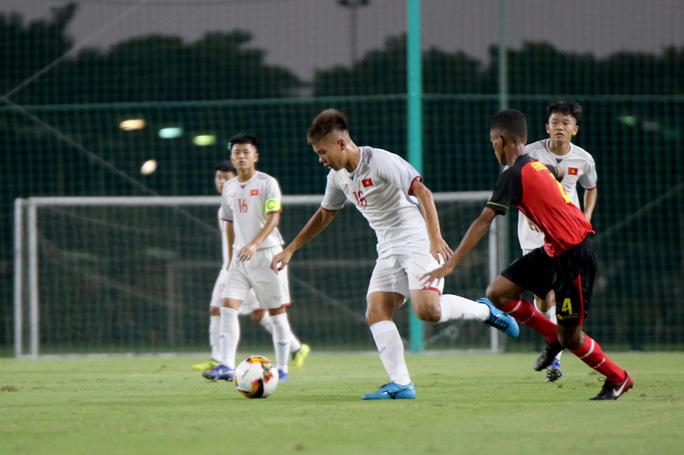 U16 châu Á 2020: Việt Nam giành 3 điểm trước Timor Leste - Ảnh 1.