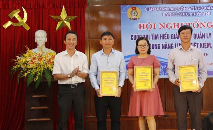 Quảng Nam: Trao thưởng cuộc thi về tiết kiệm điện - Ảnh 2.