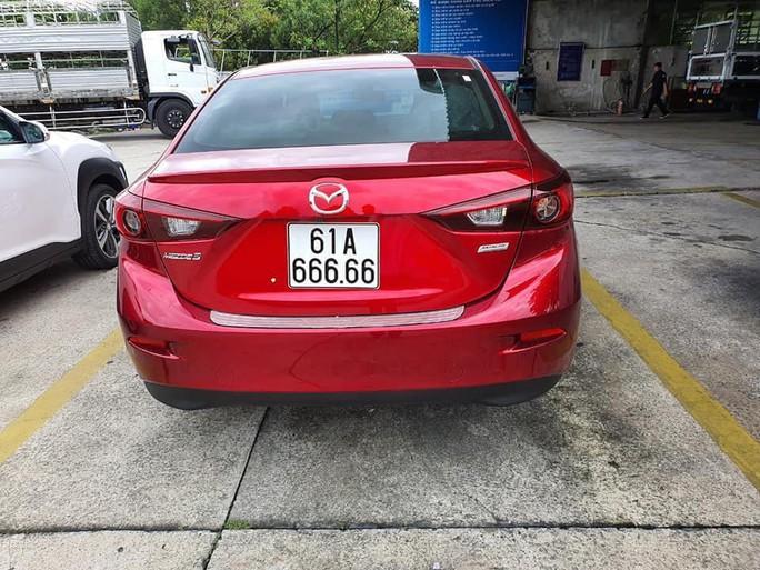Giữa tâm bão mạng, chủ xe hơi bốc được số 61A 666.66 trao đổi riêng với Báo Người Lao Động - Ảnh 2.