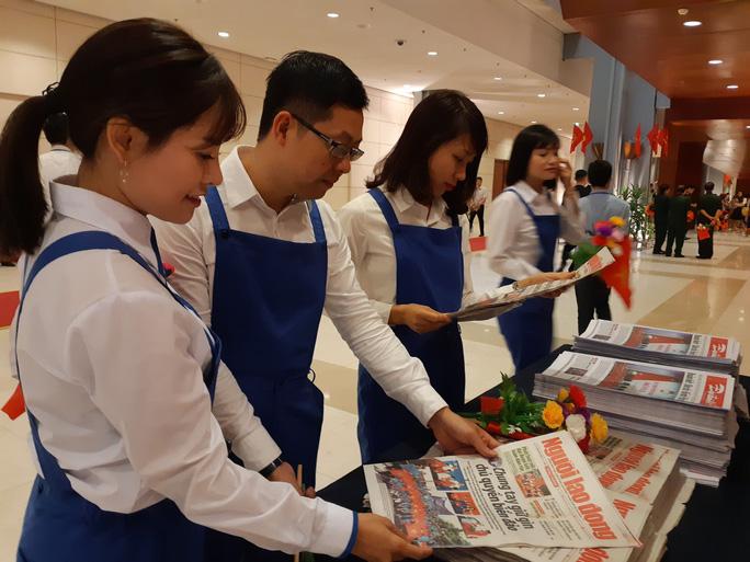 Khai mạc Đại hội đại biểu toàn quốc Mặt trận Tổ quốc Việt Nam lần thứ IX - Ảnh 7.