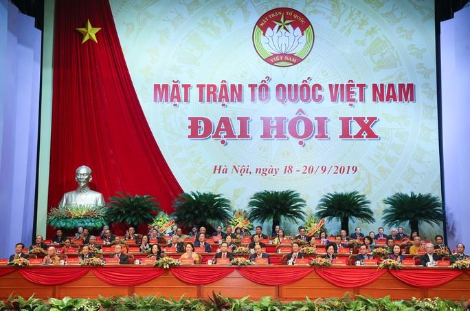 Khai mạc Đại hội đại biểu toàn quốc Mặt trận Tổ quốc Việt Nam lần thứ IX - Ảnh 1.