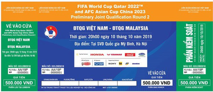 VFF bán 27.000 vé qua mạng trận Việt Nam-Malaysia: Chưa được 10 phút mở bán đã  nghẽn mạng - Ảnh 1.