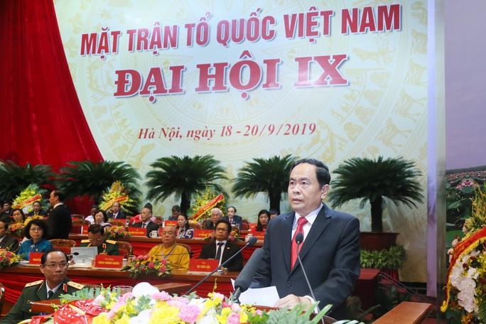 Khai mạc Đại hội đại biểu toàn quốc Mặt trận Tổ quốc Việt Nam lần thứ IX - Ảnh 3.
