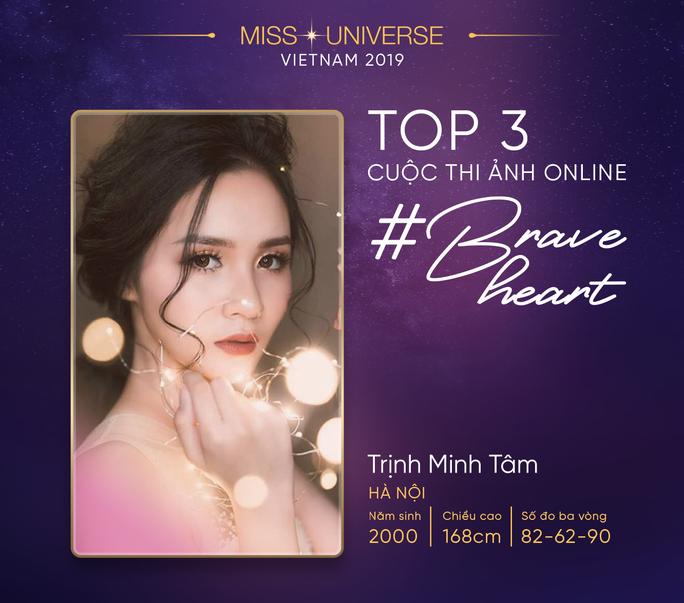 Lộ diện top 3 Hoa hậu Hoàn vũ online - Ảnh 3.
