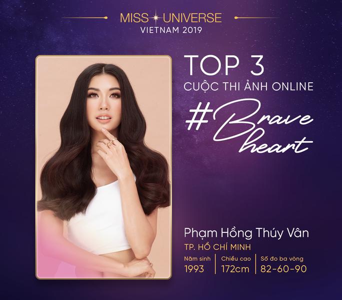 Lộ diện top 3 Hoa hậu Hoàn vũ online - Ảnh 2.