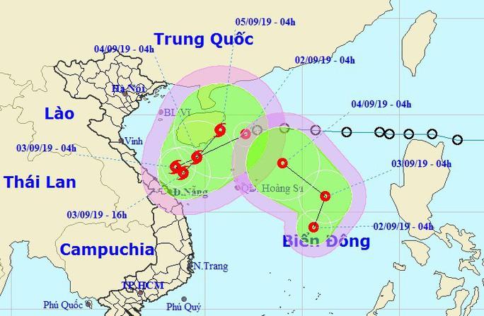 Dị thường xuất hiện 2 áp thấp nhiệt đới cùng lúc trên Biển Đông