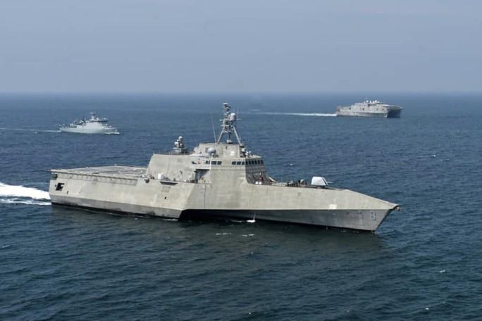 Mỹ - ASEAN tập trận hàng hải chung lần đầu tiên - Ảnh 2.
