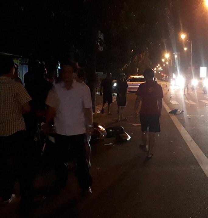 Chủ nhiệm UBKT Đảng ủy ở Hà Tĩnh có hơi men lái xe tông 2 người nguy kịch - Ảnh 1.