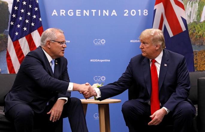 Nỗi lo về Trung Quốc phủ bóng Thượng đỉnh Mỹ - Úc - Ảnh 1.