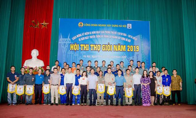Hà Nội: Thi thợ giỏi trong công nhân ngành xây dựng - Ảnh 1.
