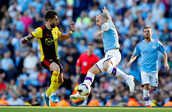 Man City dội mưa bàn thắng, Watford thảm bại kinh hoàng 0-8 - Ảnh 1.