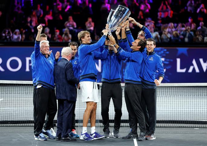 Tuyển châu Âu của Federer và Nadal vô địch Laver Cup 2019 - Ảnh 1.