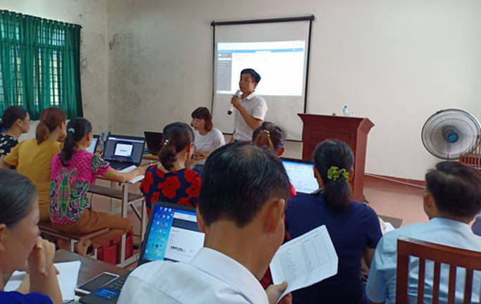 Hà Nội: Hướng dẫn sử dụng phần mềm quản lý đoàn viên - Ảnh 1.