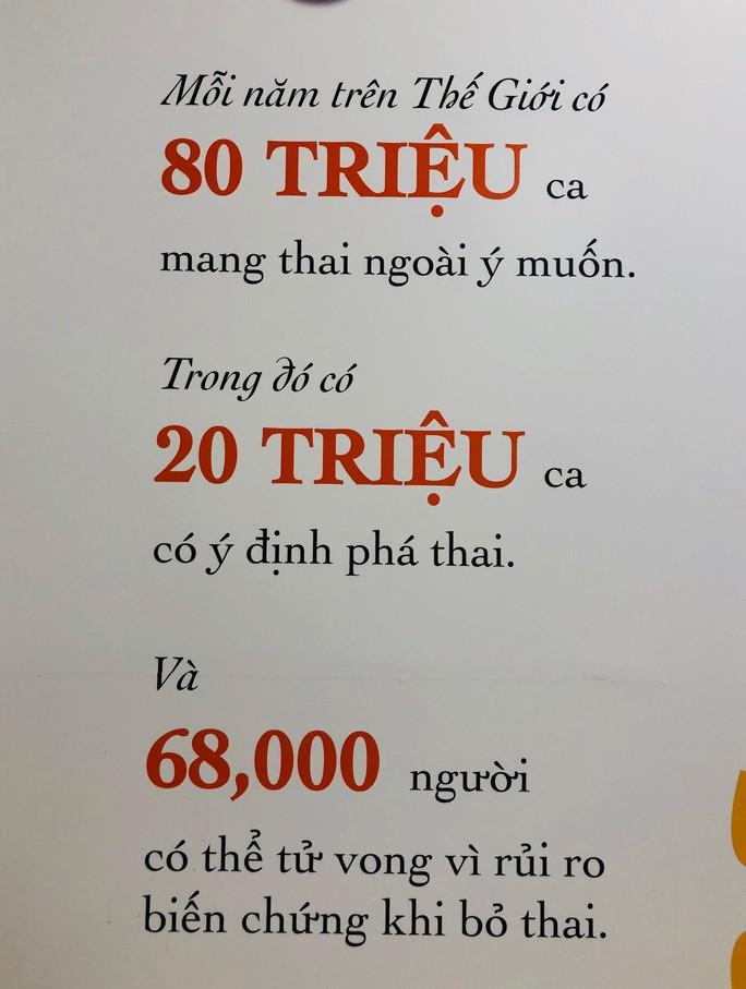 Mỗi năm Việt Nam có 300.000-350.000 ca phá thai - Ảnh 2.
