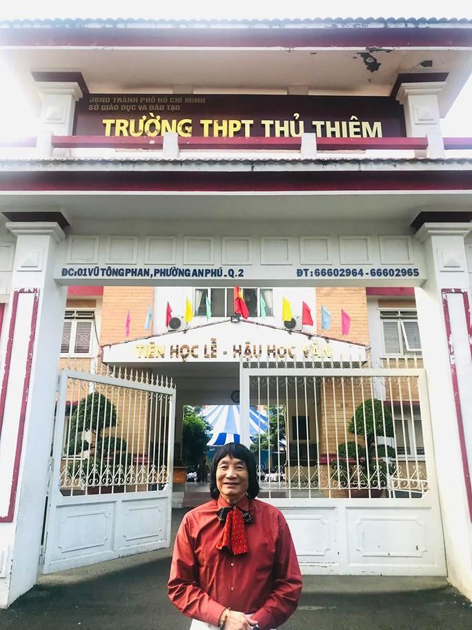 NSND Minh Vương đưa sân khấu lịch sử vào học đường - Ảnh 5.