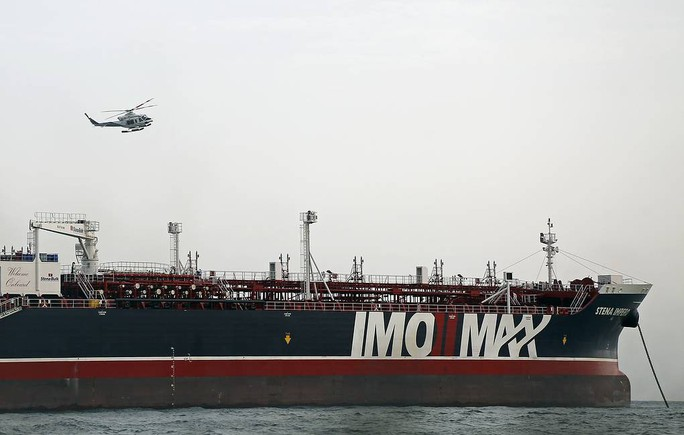 Iran thả tàu chở dầu Anh sau 65 ngày bắt giữ - Ảnh 1.