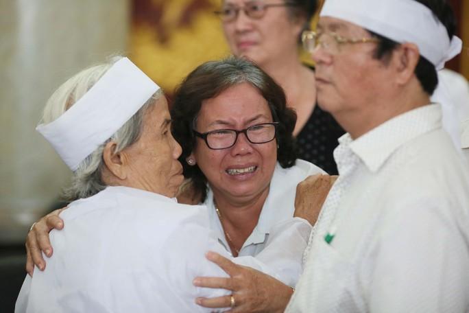 Xúc động lễ viếng đại tá, phi công Nguyễn Văn Bảy - Ảnh 9.