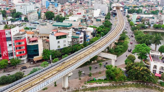 Cận cảnh đường sắt Cát Linh-Hà Đông tiến độ kiểu rùa bò hơn thập kỷ - Ảnh 7.