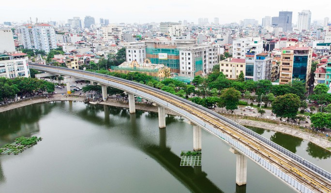 Cận cảnh đường sắt Cát Linh-Hà Đông tiến độ kiểu rùa bò hơn thập kỷ - Ảnh 13.