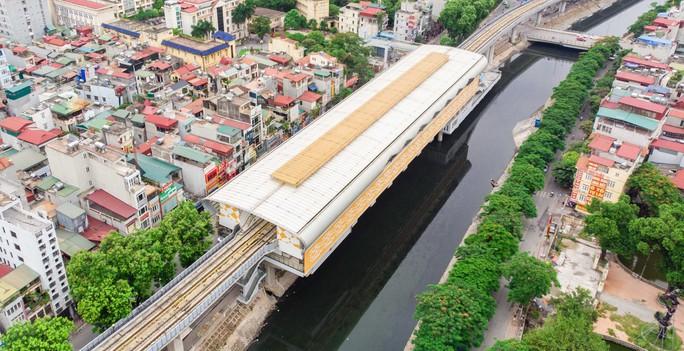 Cận cảnh đường sắt Cát Linh-Hà Đông tiến độ kiểu rùa bò hơn thập kỷ - Ảnh 15.
