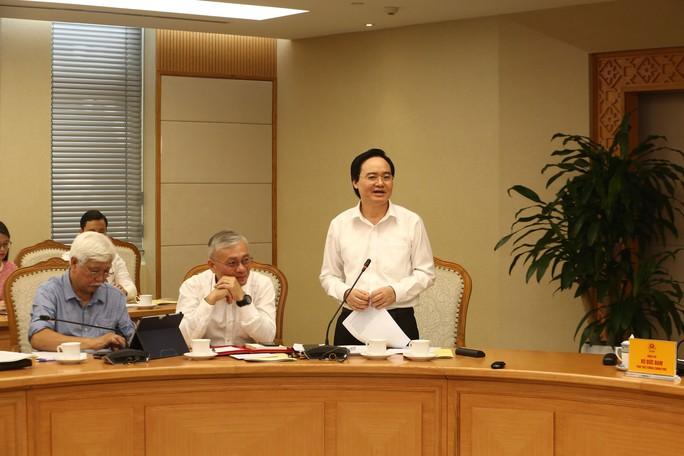 Bộ trưởng Bộ GD-ĐT Phùng Xuân Nhạ khẳng định sẽ tiếp thu ý kiến hoàn thiện phương án thi THPT sau năm 2020