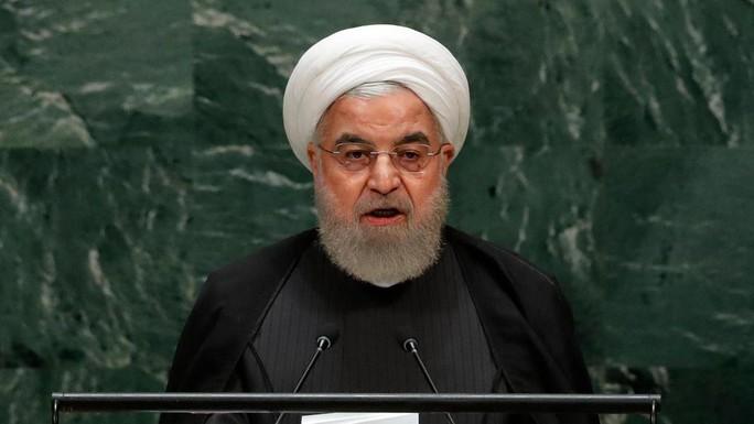 Chịu hết nổi Mỹ, Tổng thống Iran trút hết vào phát biểu - Ảnh 1.