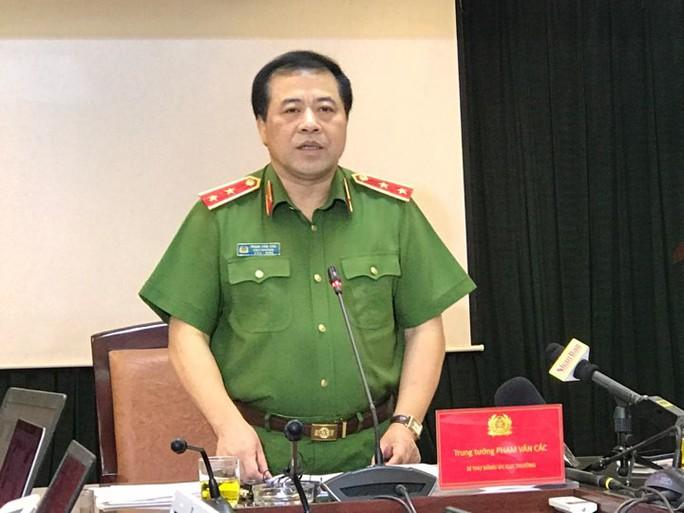 Bộ Công an thông tin quá trình phá đường dây ma túy lớn do người Trung Quốc cầm đầu - Ảnh 1.