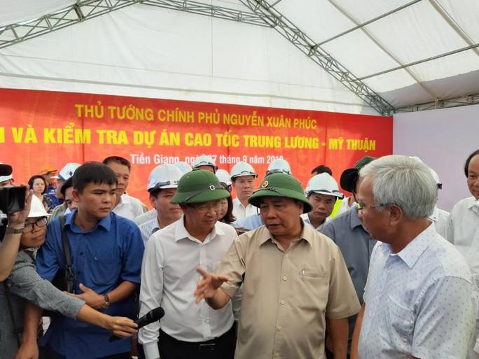 Thủ tướng: Không để cao tốc Trung Lương - Mỹ Thuận lỡ hẹn - Ảnh 1.