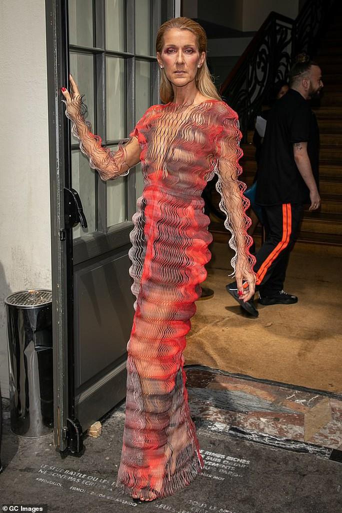 Bị chê gầy gò, họa mi Celine Dion phản pháo - Ảnh 1.