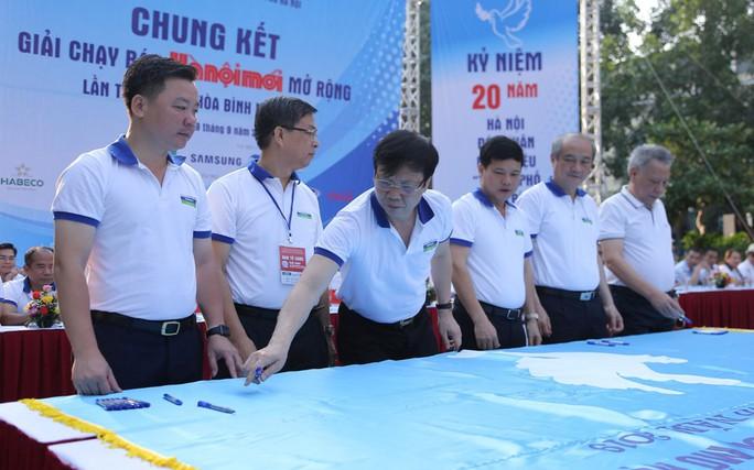 Gần 1.500 VĐV tham gia Giải chạy Báo Hà Nội Mới mở rộng lần thứ 46 - Ảnh 8.