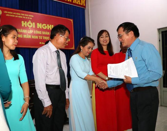 Bình Dương: Tập hợp giáo viên mầm non tư thục vào Công đoàn - Ảnh 1.