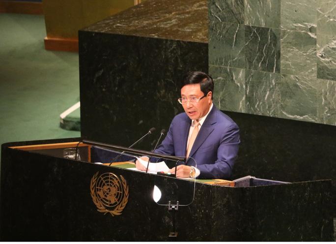 Phó Thủ tướng nêu vấn đề Biển Đông tại Đại Hội đồng Liên Hiệp Quốc - Ảnh 1.