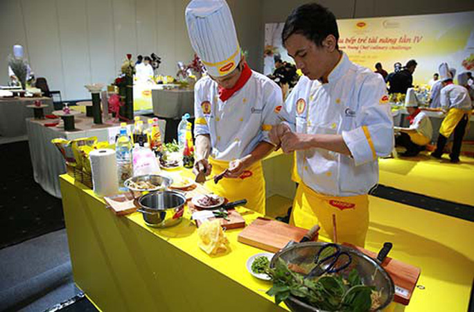 Tổ chức thi tay nghề đầu bếp năm 2019 - Ảnh 1.