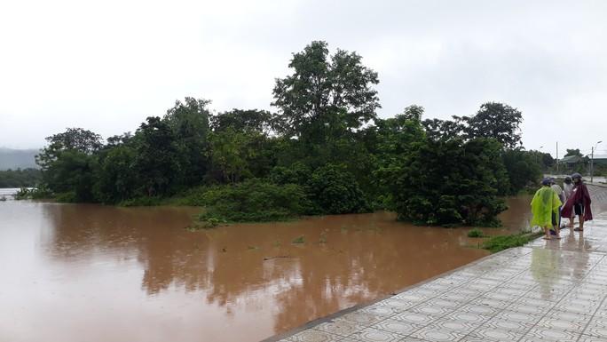 Chùm ảnh: Nước sông Sê Pôn dâng cao, người dân Quảng Trị hối hả sơ tán - Ảnh 7.