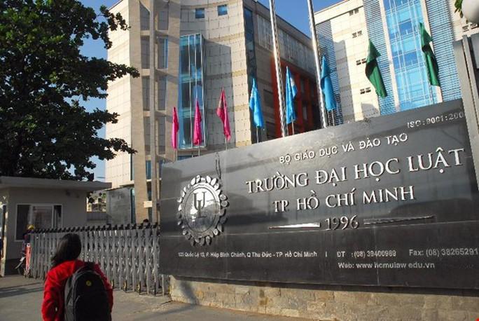 Thanh tra giáo dục chỉ ra nhiều sai phạm của Trường ĐH Luật TP HCM - Ảnh 1.