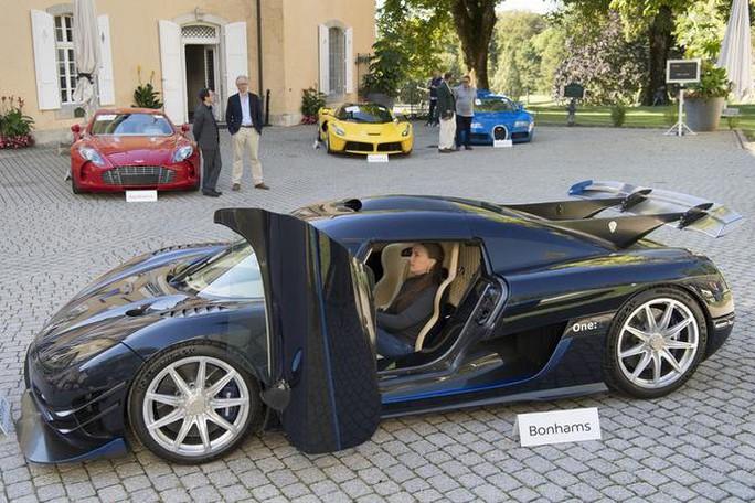 Đấu giá 25 siêu xe tịch thu của Phó Tổng thống Guinea Xích đạo - Ảnh 4.