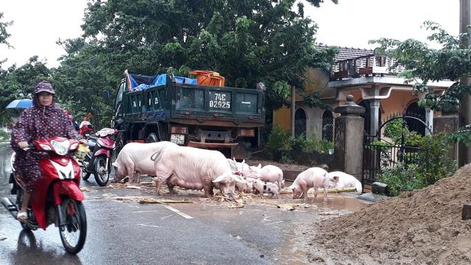 Cận cảnh hàng trăm nhà dân Quảng Trị ngập chìm trong nước - Ảnh 6.