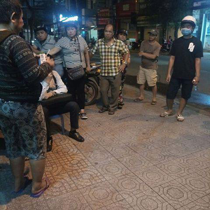 Tai nạn thương tâm ở quận Bình Thạnh - TP HCM - Ảnh 1.