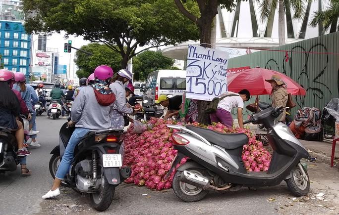 Thanh long, dưa hấu rớt giá còn 6.000 đồng/kg vì thị trường Trung Quốc bấp bênh - Ảnh 1.