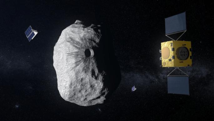 Tàu NASA chuẩn bị tấn công tiểu hành tinh gây hại trái đất - Ảnh 1.