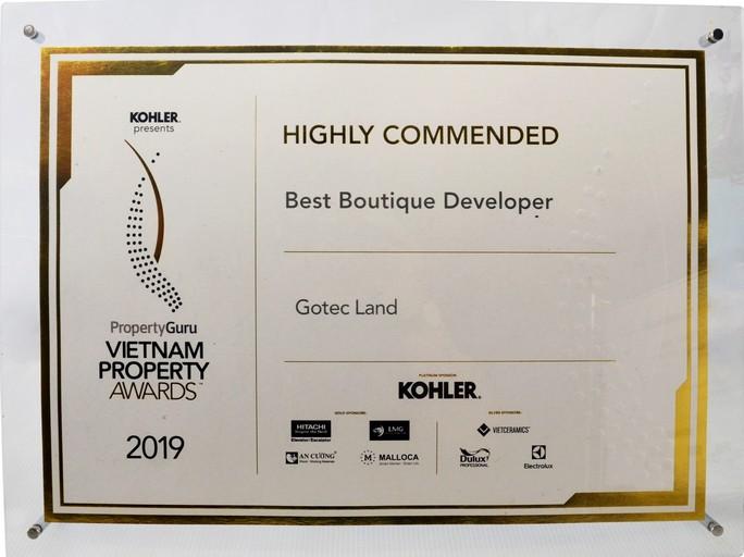 Gotec Land nhận cú đúp giải thưởng danh giá - Ảnh 2.