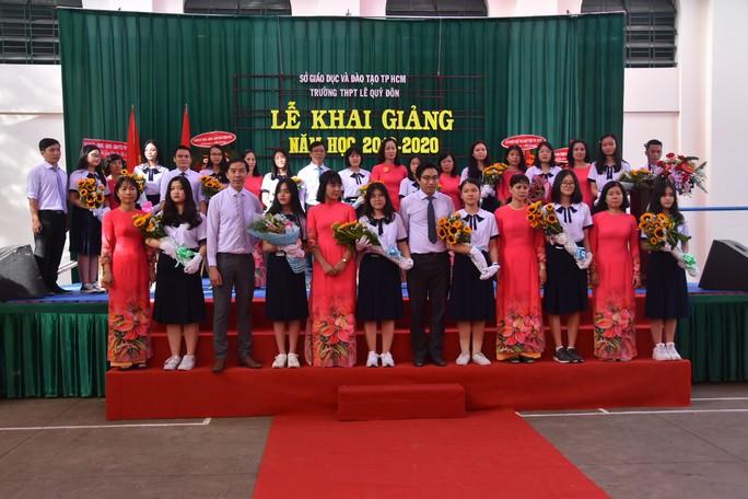 Bí thư Thành ủy TP HCM: Trường THPT Lê Quý Đôn phải là trường hàng đầu của TP - Ảnh 6.