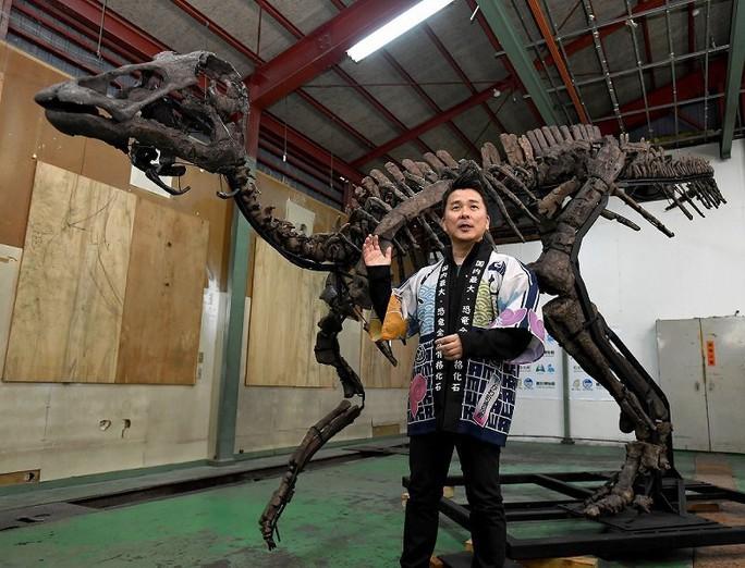 Vấp vật lạ, đào được quái vật khổng lồ thời châu Á liền với Mỹ - Ảnh 1.