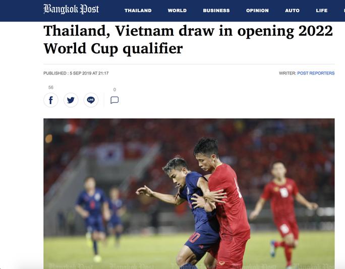 Báo chí Thái Lan thất vọng với HLV Nhật Bản sau trận hòa Việt Nam - Ảnh 4.