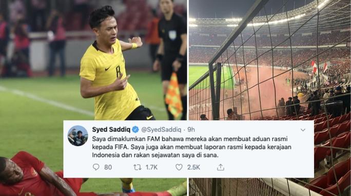 CĐV Indonesia làm loạn, Bộ trưởng Malaysia dọa kiện lên FIFA - Ảnh 2.