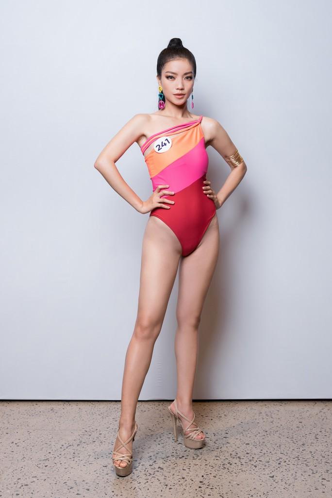 Hé lộ loạt bikini đầu tiên của mùa Hoa hậu Hoàn vũ 2019 - Ảnh 6.