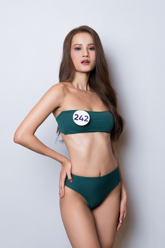 Hé lộ loạt bikini đầu tiên của mùa Hoa hậu Hoàn vũ 2019 - Ảnh 5.
