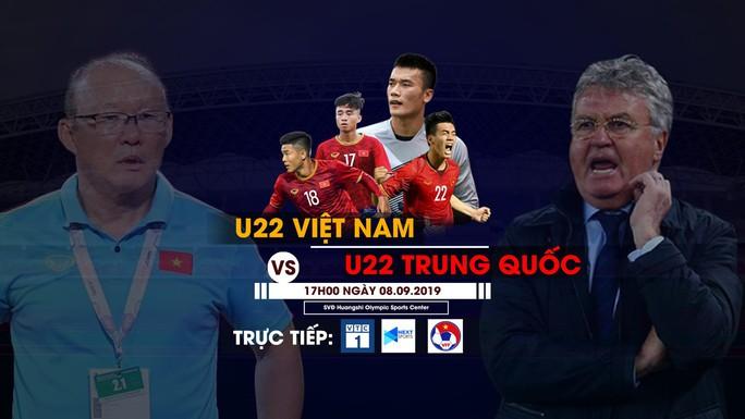 Xem trực tiếp U22 Việt Nam gặp U22 Trung Quốc trên kênh nào? - Ảnh 1.