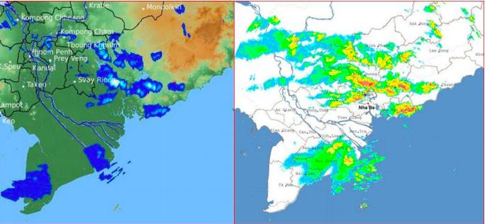 TP HCM mưa, dông lớn  - Ảnh 1.